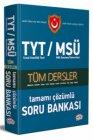Editör Yayınları TYT MSÜ Tüm Dersler Çözümlü Soru Bankası