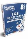Benim Hocam Yayınları 8. Sınıf LGS İnkılap Tarihi ve Atatürkçülük Video Ders Notları