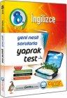 Çanta Yayınları 8. Sınıf İngilizce Yaprak Test