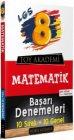 Toy Akademi Yayınları 8. Sınıf LGS Matematik Başarı Denemeleri