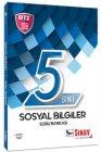 Sınav Yayınları 5. Sınıf Sosyal Bilgiler Soru Bankası BTS