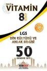 Dört Kalem Yayınları 8. Sınıf LGS Din Kültürü ve Ahlak Bilgisi Tamamı Çözümlü 50 Deneme Seti