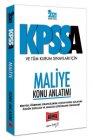 Yargı Yayınları 2021 KPSS A Grubu ve Tüm Kurum Sınavları İçin Maliye Konu Anlatımı