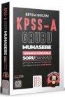 Benim Hocam Yayınları KPSS A Grubu Muhasebe Tamamı Çözümlü Bankası