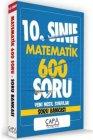 Çapa Yayınları 10. Sınıf Matematik Soru Bankası