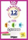 Ankara Yayıncılık 10. Sınıf Fizik Dekatlon 12 Deneme