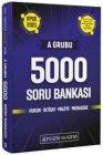 Pegem Yayınları 2021 KPSS A Grubu 5000 Soru Bankası