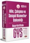 Data Yayınları Aile, Çalışma ve Sosyal Hizmetler Bakanlığı GYS Hazırlık Kitabı