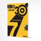 Hız Yayınları 7. Sınıf Sosyal Bilgiler 30 Deneme