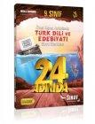 Sınav Yayınları 9. Sınıf Türk Dili ve Edebiyatı 24 Adımda Özel Konu Anlatımlı Soru Bankası