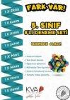 KVA Yayınları 5. Sınıf Fark Var 8 li Deneme Seti