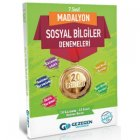 Gezegen Yayınları 7. Sınıf Sosyal Bilgiler Madalyon 20 li Denemeleri