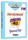 Ankara Yayıncılık 8. Sınıf LGS Fen Bilimleri 40 Yaprak Test