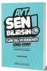 Benim Hocam Yayınları AYT Türk Dili ve Edebiyatı Sen Bilirsin Soru Cevap Kitabı