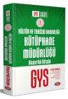 Data Yayınları Kültür ve Turizm Bakanlığı Kütüphane Müdürlüğü GYS Hazırlık Kitabı