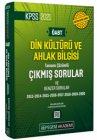 Pegem Yayınları 2021 KPSS ÖABT Din Kültürü ve Ahlak Bilgisi Tamamı Çözümlü Çıkmış Sorular