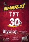 Palme Yayınları TYT Biyoloji Enerji 30 Deneme Sınavı