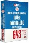 Data Yayınları 2021 GYS Kültür ve Turizm Bakanlığı Müze Müdürlüğü Hazırlık Kitabı