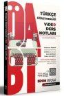 Benim Hocam Yayınları 2021 ÖABT Türkçe Öğretmenliği Video Ders Notları