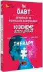 Yargı Yayınları 2021 ÖABT Therapy Rehberlik ve Psikolojik Danışmanlık Tamamı Çözümlü 10 Deneme
