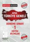 Pegem Yayınları 2021 KPSS Eğitim Bilimleri Türkiye Geneli Deneme Sınavı 1