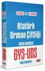 Data Yayınları Atatürk Orman Çiftliği GYS-UDS Soru Bankası