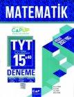 Çap Yayınları TYT Matematik 15 x 40 Up Deneme