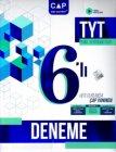 Çap Yayınları TYT 6 lı Deneme