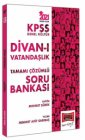 Yargı Yayınları 2021 KPSS Genel Kültür Divan ı Vatandaşlık Tamamı Çözümlü Soru Bankası