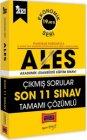 Yargı Yayınları 2021 ALES Son 11 Sınav Tamamı Çözümlü Çıkmış Sorular Ekonomik Seri