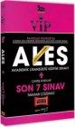 Yargı Yayınları 2021 VIP ALES Son 7 Sınav Tamamı Çözümlü Çıkmış Sorular