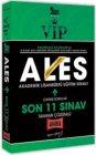 Yargı Yayınları 2021 VIP ALES Son 11 Sınav Tamamı Çözümlü Çıkmış Sorular