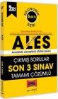 Yargı Yayınları 2021 ALES Ekonomik Seri Son 3 Sınav Tamamı Çözümlü Çıkmış Sorular