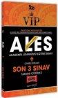 Yargı Yayınları 2021 VIP ALES Son 3 Sınav Tamamı Çözümlü Çıkmış Sorular