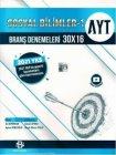 Bilgi Sarmal Yayınları AYT Sosyal Bilimler 1 30 x 16 Branş Denemeleri
