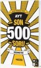 Hız Yayınları AYT Geometri Son 500 Soru