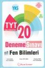 Palme Yayınları TYT Fen Bilimleri 20 Deneme Sınavı