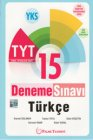Palme Yayınları TYT Türkçe 15 Deneme Sınavı