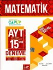 Çap Yayınları AYT Matematik 15 x 40 Up Deneme