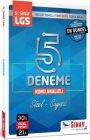 Sınav Yayınları LGS 5 Deneme Kitabı Konu Analizli