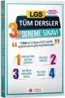 Sonuç Yayınları 2021 8. Sınıf LGS Tüm Dersler 3 Deneme