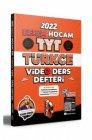 Benim Hocam Yayınları 2022 TYT Türkçe Video Ders Defteri