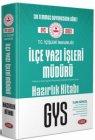 Data Yayınları T.C. İçişleri Bakanlığı İlçe Yazı İşleri Müdürü GYS Hazırlık Kitabı