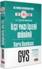 Data Yayınları T.C. İçişleri Bakanlığı İlçe Yazı İşleri Müdürü GYS Soru Bankası