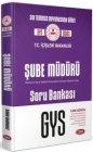 Data Yayınları T.C. İçişleri Bakanlığı Şube Müdürü GYS Soru Bankası