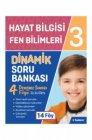 Tudem Yayınları 3. Sınıf Hayat Bilgisi Fen Bilimleri Dinamik Soru Bankası