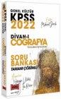 Yargı Yayınları 2022 KPSS Divanı Coğrafya Soru Bankası